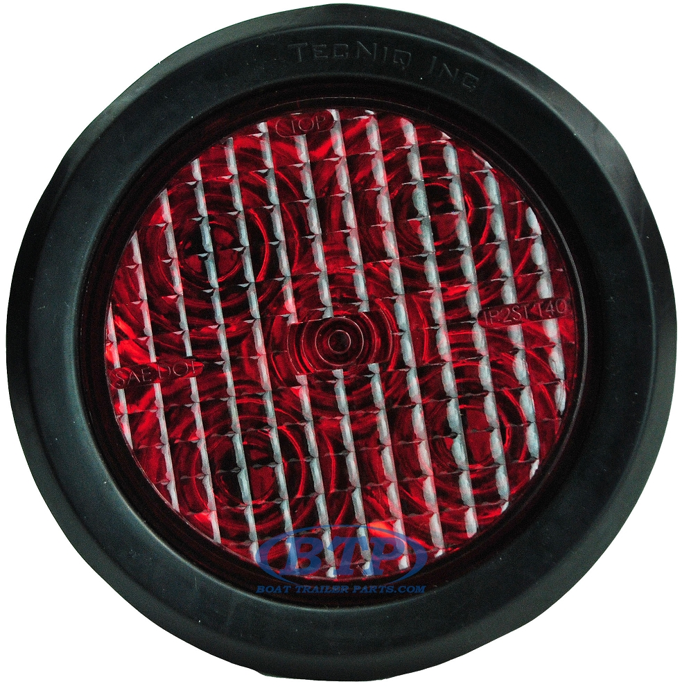 Diagram Led Round Trailer Light Kit Red 4 Inch Sealed And Submersible
