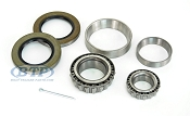 Trailer Wheel Bearing Kit 6 Lug, 1 1/4 inch x 1 3/4 inch with Races, Seal
