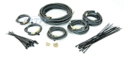 Tandem Axle Boat Trailer Brake Line Kit Long 24ft for Hydraulic Brakes Disc or Drum