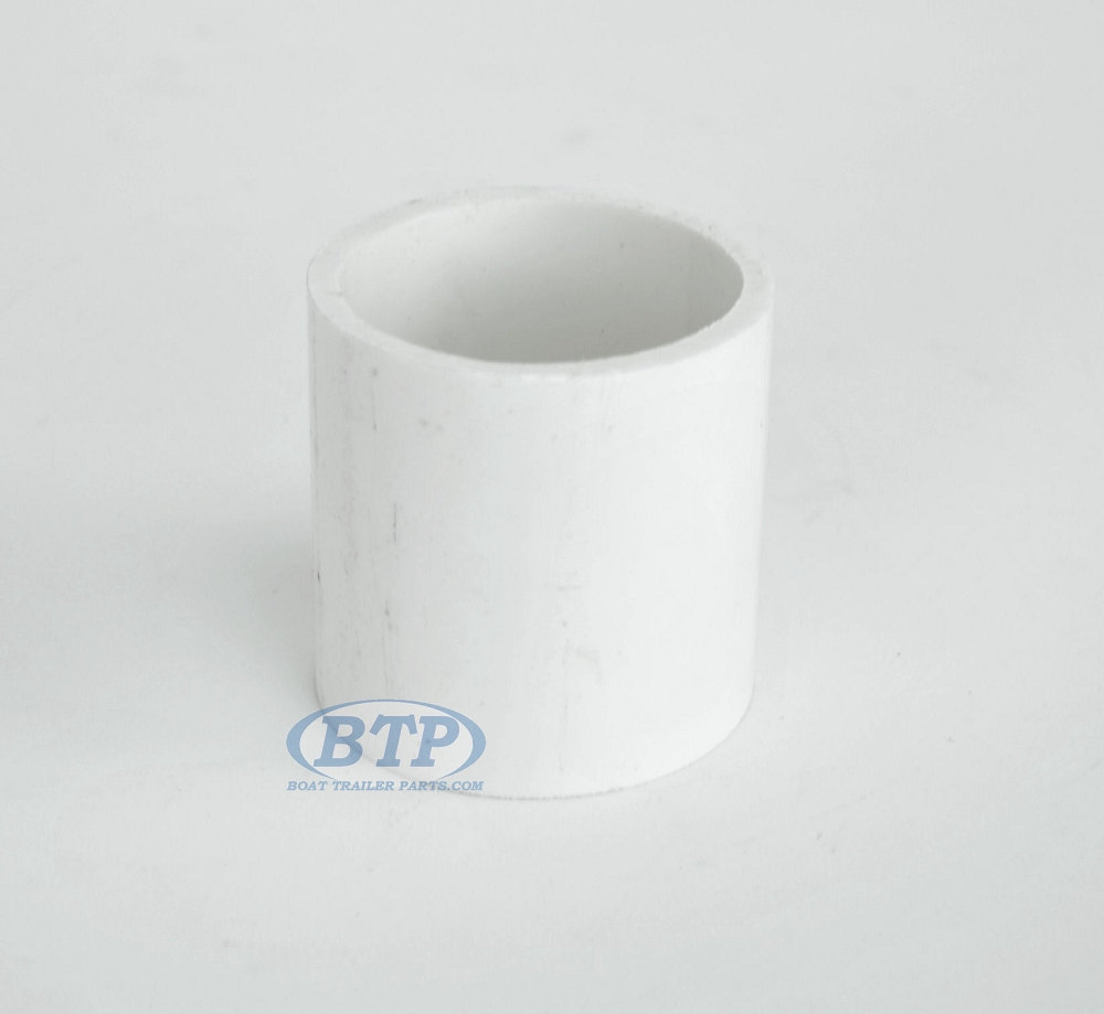 Cap adapter for inch pvc attaches to pipe