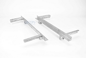 Boat Trailer Leaf Spring Slider Single Axle PAIR For 25 1/4 Double Eye Springs