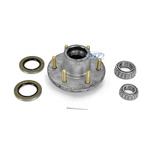Boat Trailer Hub Galvanized 6 Lug fits 5200-6000 lb. axles