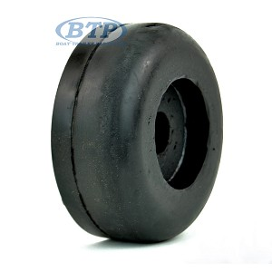 3.5 inch Rubber Boat Trailer Roller End Cap 5/8 Bore