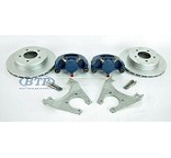 Kodiak Koda Guard Trailer Disc Brake Kit Slip On 5 Lug 3500 lb Axles