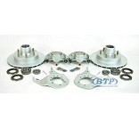 Kodiak Boat Trailer Integral Disc Brake Kit 6 Lug All Dacromet