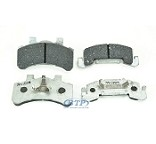 Tie Down Engineering Vented Rotor Disc Brake Pads For (2) Calipers