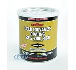 1/2 Pint Zinc Rich Cold Galvanized Paint for Boat Trailers