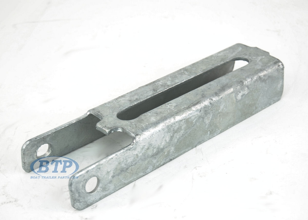 "Qty 8 10/"" Vertical L Type Aluminum Boat Trailer Bunk Support Bolster Brackets"