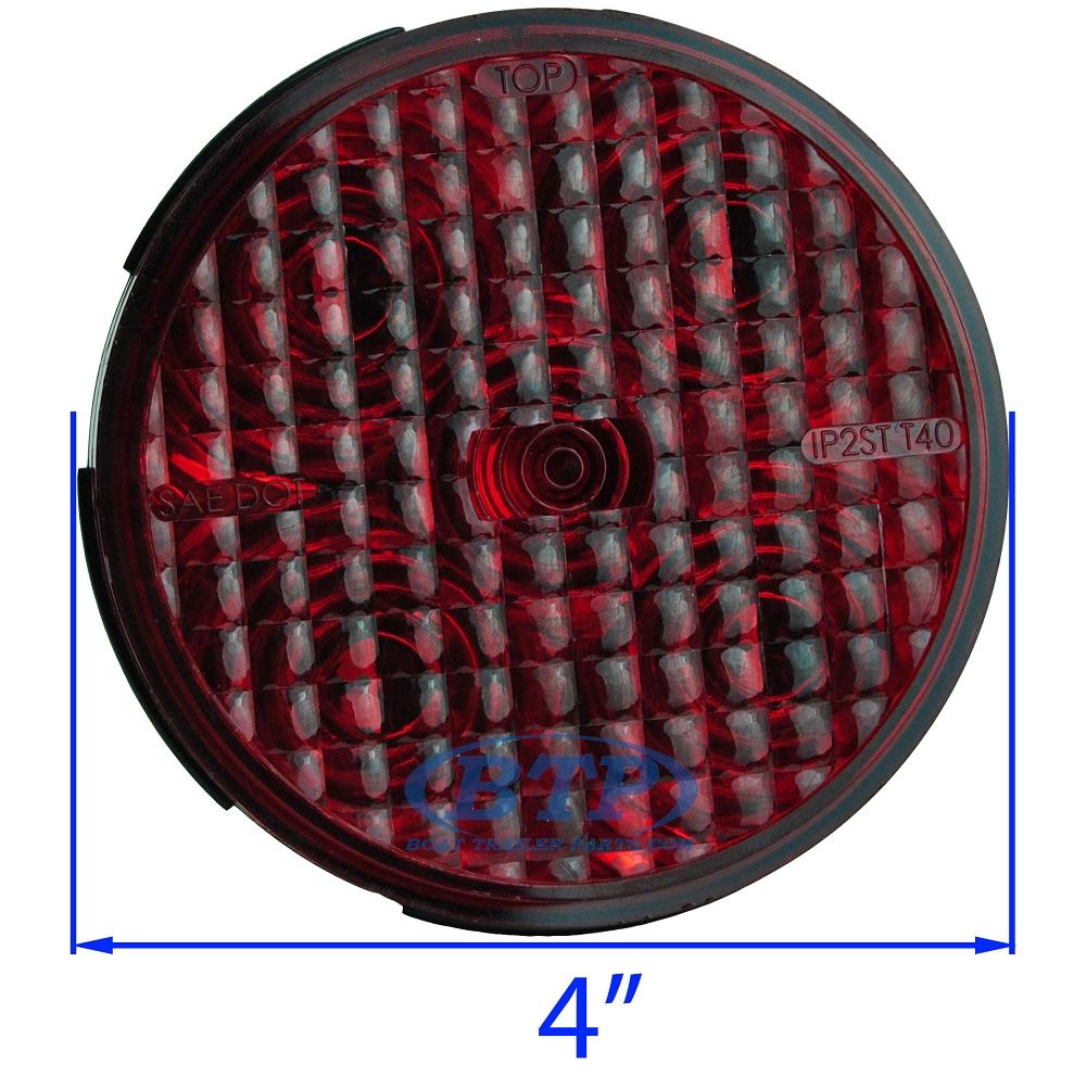 Diagram Led Round Red 4 U0026quot Sealed Light