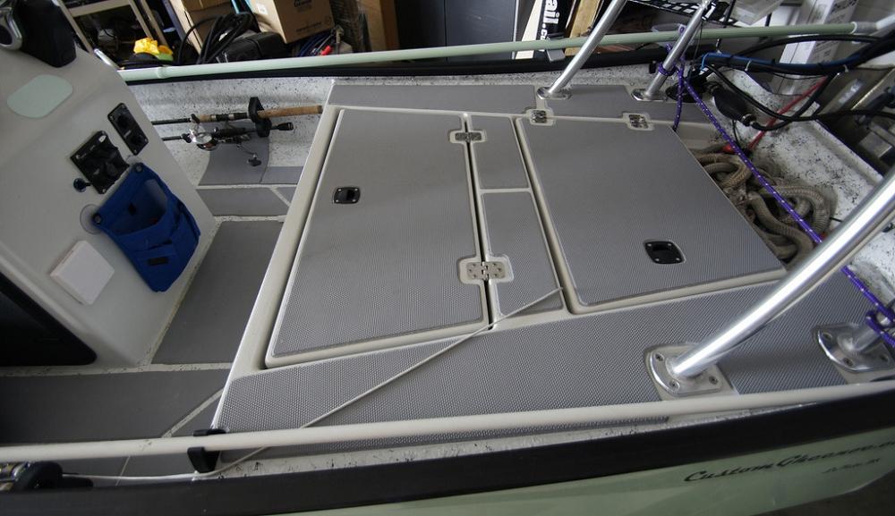 Seadek Marine Sheet Material 39 Inch X 77 Inch Storm Gray