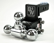 B&W Tow and Stow Ball Adjustable Ball Mount Truck hitch Model 6