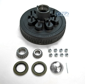 Trailer Brake Drum Hub 8 Lug Fits 7,000lb Trailer Axles