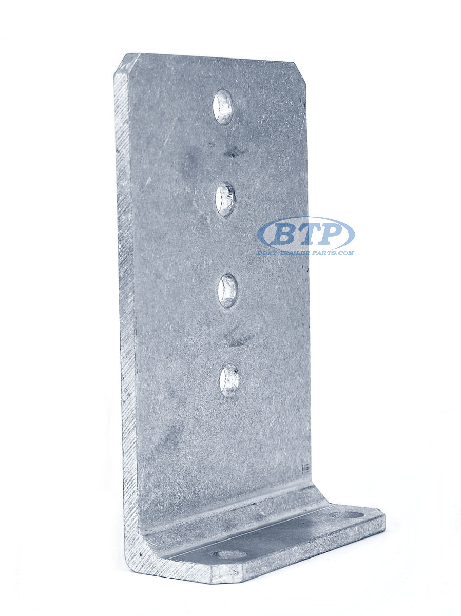 """8 10/"""" Tall Hot Dipped Galvanized Boat Trailer Vertical Bunk Board Brackets"""