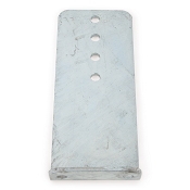 12 inch Bunk Bracket Galvanized L-Type for Boat Trailer Bunk Boards