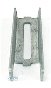 8 inch Vertical Bunk Bracket Galvanized Support for Boat Trailer