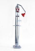Bulldog A Frame Trailer Jack 5,000 lb Capacity Top Wind Zinc Plated