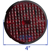 LED Round Red 4