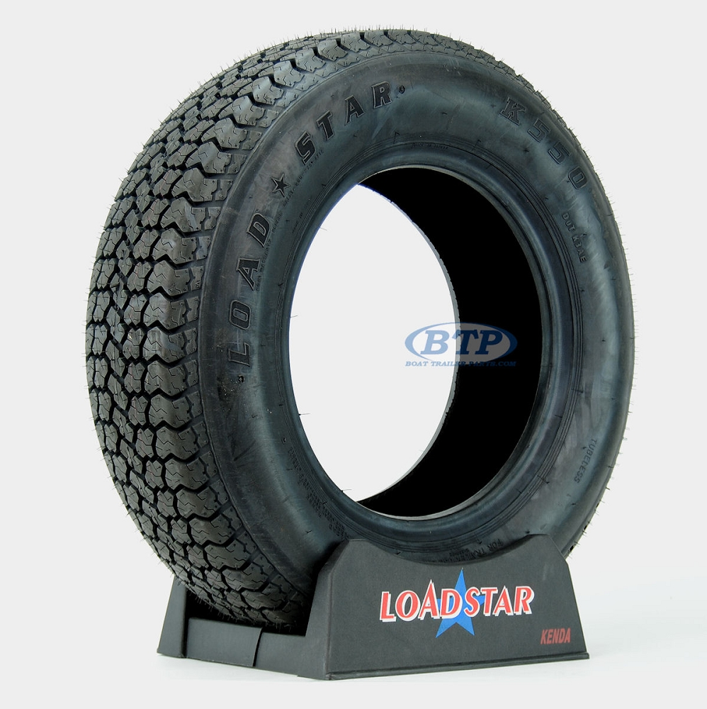 Trailer Tire St215 75d14 Bias Ply 14 In Load Range C 1870lb By Loadstar