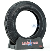 Trailer Tire 4.80x12 Bias Ply 12 in Load Range C 990lb by Loadstar