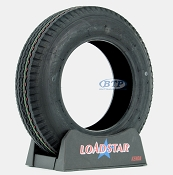 Trailer Tire 5.30x12 Bias Ply 12 in Load Range C 1045lb by Loadstar