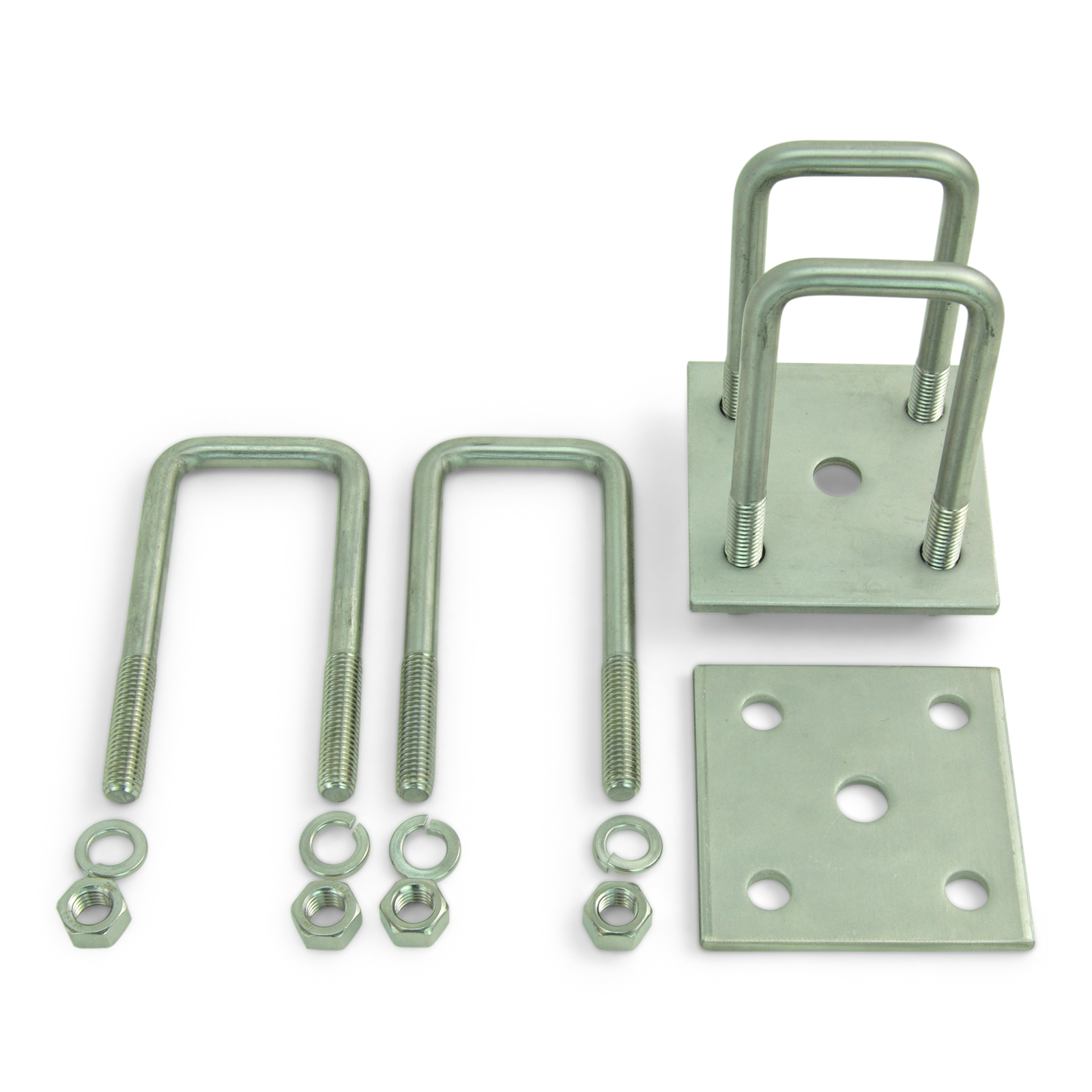 Boat Trailer Leaf Spring Mounting Bolts 9//16 in x 3 1//2 inch Stainless Steel 6