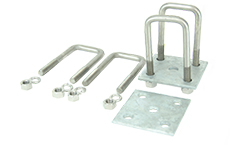 Stainless Steel Leaf Spring U-Bolt Mounting Kit