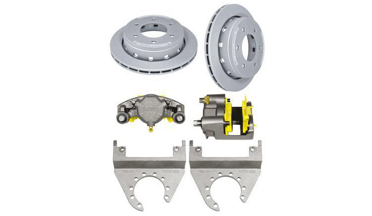 6 Lug Deemax Boat Trailer Disc Brake Kits