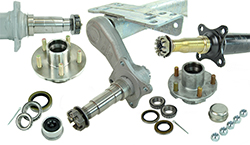 Boat Trailer Axles and Hubs