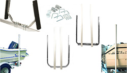 Boat Trailer Guide Pole Sets