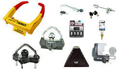 Boat Trailer Locks and Accessories