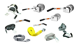 Boat Trailer Winches and Straps