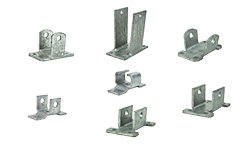 Galvanized Bolt-On Leaf Spring Hangers