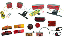 Boat Trailer Pipe Lights And Submersible Led Lights