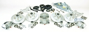 Boat Trailer Kodiak Disc Brake Kit Tandem Axle Assembly with Titan M60 Actuator