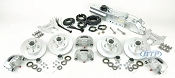 Boat Trailer Kodiak Disc Brake Kit Tandem Axle Assembly with Titan M6 Actuator