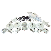 Boat Trailer Kodiak Disc Brake Kit Tandem Axle Assembly with Demco DA86B (8,600lb) Actuator