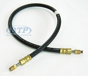 Boat Trailer Rubber Flexible DOT Brake Hose 24 in Male Inverted Flare