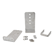 Set of 2 - 10 inch (1/4 inch thick) Stainless Steel Boat Trailer Bunk Brackets L-Type