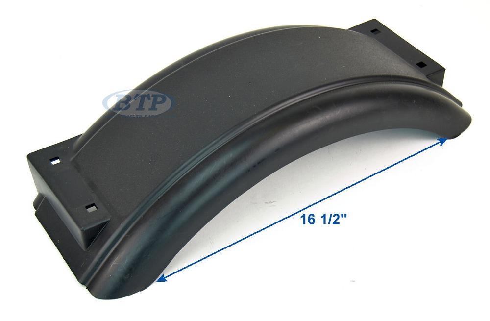Plastic Fenders For Trailers : Plastic trailer fender for boat inch