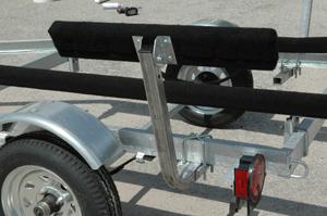 Boat Trailer Bunk Board Side Bunks Guide On Rails 2 Foot Long