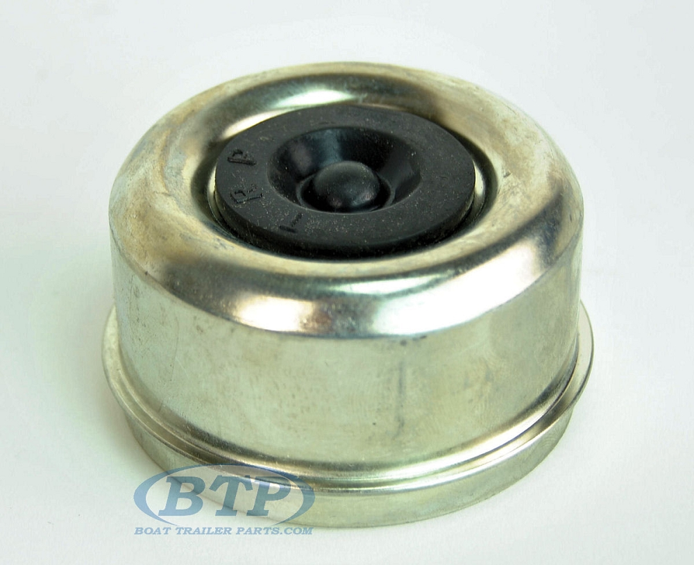 Zinc Plated 2 717 In Accu Lube Trailer Dust Cap Fits Most