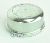 2.441 Zinc Plated Trailer Dust Cap Fits Most 6 Lug Trailer Hubs