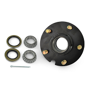 Boat Trailer Short Hub 5 Lug fits 2,000 lb. Axles with 1 1/16in Bearings