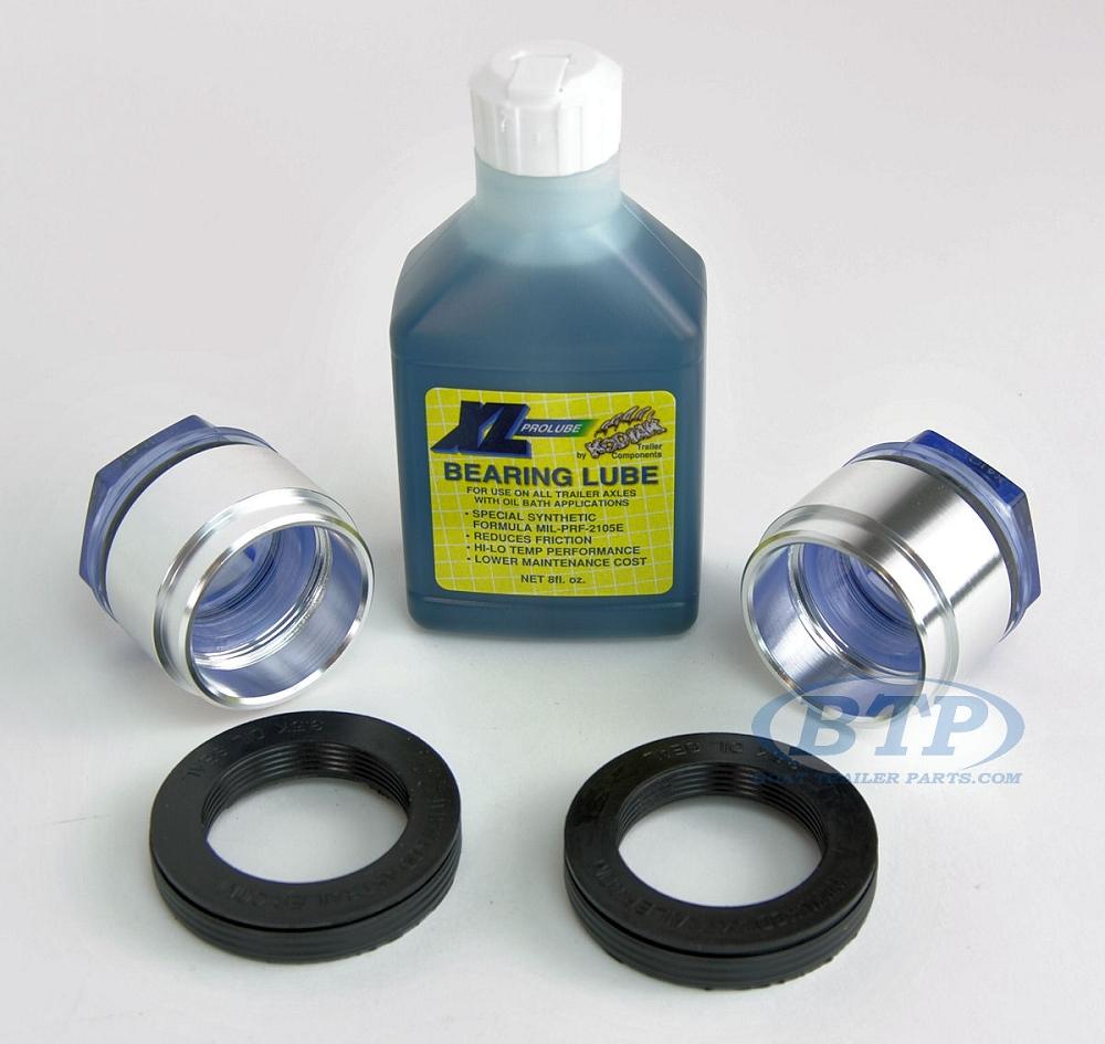 Kodiak XL Pro Lube Oil Bath Kit 1 98 Size for 5 Lug 3 5K Hubs