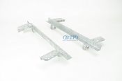Boat Trailer Leaf Spring Slider Single Axle PAIR For 24 Slipper Springs