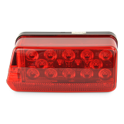 8 Function LED Boat Trailer Brake Light Left Hand Side Waterproof by Wesbar