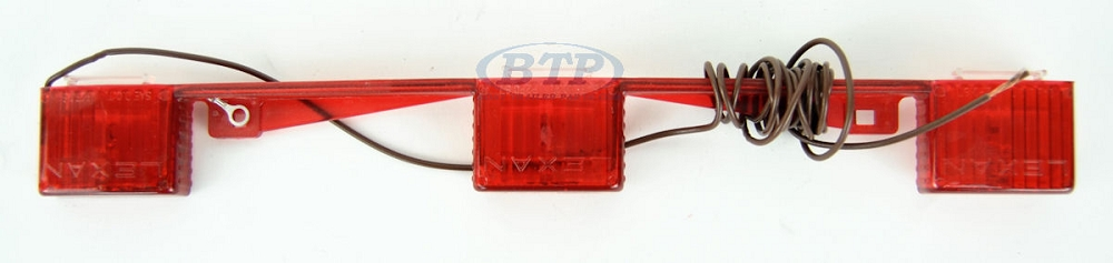 Red id light bar submersible bendable backing for boat trailer 5 aloadofball Gallery