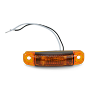 Boat Trailer Submersible Amber LED Side Marker Light S18 TecNiq
