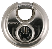 Trimax Stainless Steel Disk Storage Lock