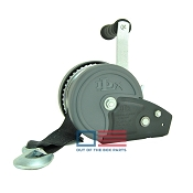 DLX Boat Trailer Winch 1200 lb Capacity with Winch Strap Dutton Lainson
